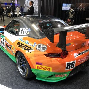 Mazda ND Roadster (MX-5) Race car p2