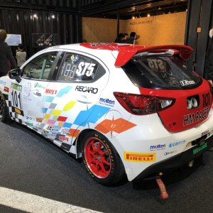 Mazda2 / Demio Race car in Japan p2