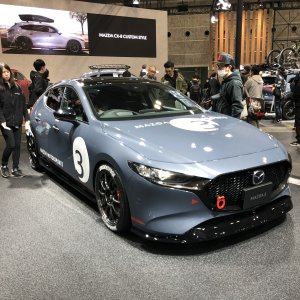 Mazda Display Osaka Automesse 2020 (Mazda3 #1)