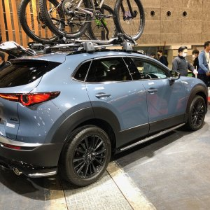 Mazda CX-30 Signature Style (Rear Close)